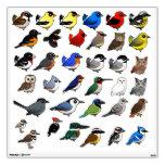 Custom Wall Decal with Birdorable Birds