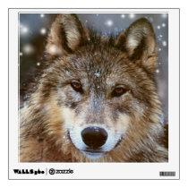 Custom Wall Decal/Wolf Wall Decal