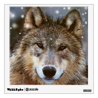 Custom Wall Decal/Wolf Wall Decal