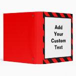 Custom Warning Binder