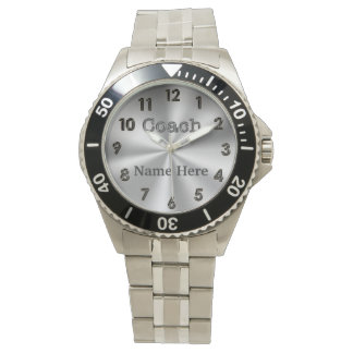 Custom Watches for Coaches, Coach and NAME