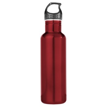 Custom Water Bottle (18 Oz)  Stainless Steel by CREATIVEforBUSINESS at Zazzle