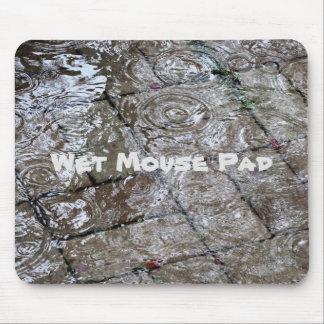 Custom Water ripples on flooded bricks Mousepad
