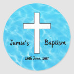 Custom Waters of Baptism sticker