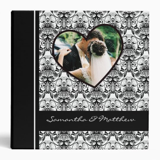 Custom Wedding Album Binder