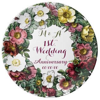 custom wedding anniversary,decorative plate