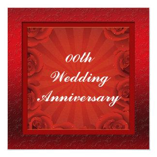 Custom Wedding Anniversary Party Invitation