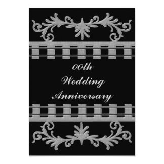 Custom Wedding Anniversary Party Invitation