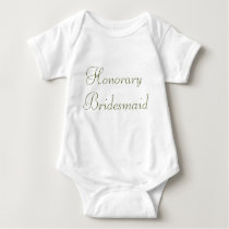 Custom Wedding Apparel Shirt for Baby or Toddler