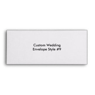 Custom Wedding Bachelor Party Envelopes Envelopes