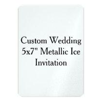 Custom Wedding Bachelor Party Pearl Invitation