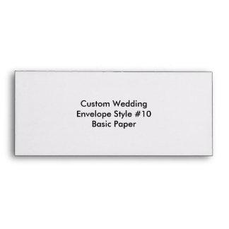 Custom Wedding Bachelorette Party Envelope Envelope