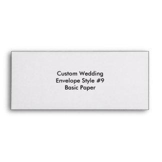 Custom Wedding Bachelorette Party Envelope Envelopes