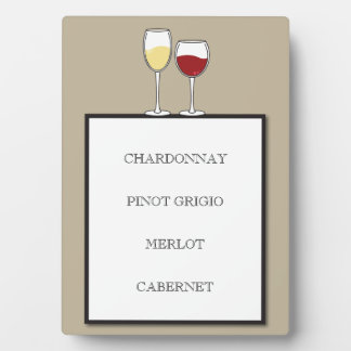 Custom Wedding Bar Sign Plaque