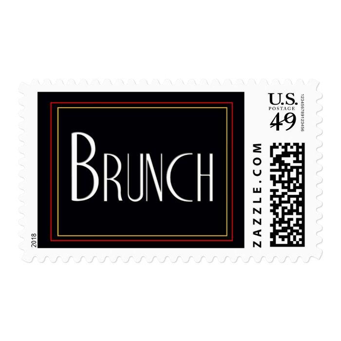 Custom Wedding Brunch stamps