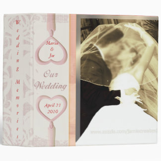Custom Wedding Cake Photo Binder