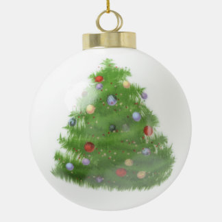 Custom Wedding Christmas Tree Ceramic Ball Ornamen Ceramic Ball Christmas Ornament