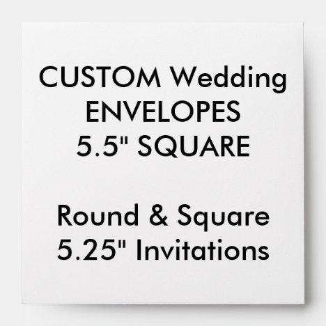Square Invitations