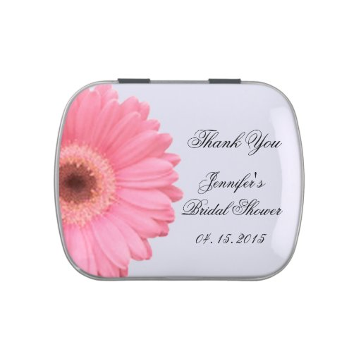 Custom wedding favor jelly belly jelly belly candy tin