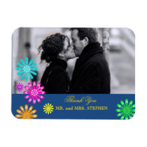 Custom Wedding Favor Thank You Photo Magnets