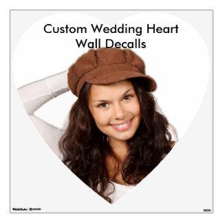 Custom Wedding Favor Wall Decal