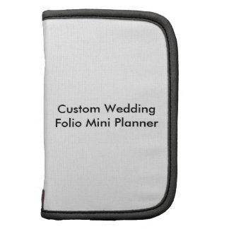 Custom Wedding Folio Mini Planner