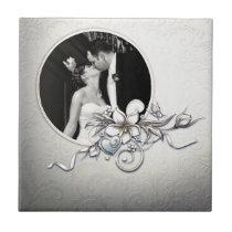 Custom Wedding Frame Tile