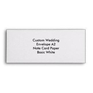 Custom Wedding Gift Envelope to personalize Envelopes