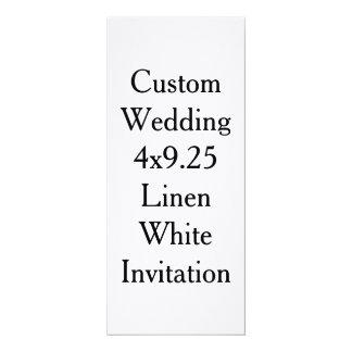 Custom Wedding Invitation Blank Design Template