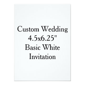 Custom Wedding Invitation Blank Design Template