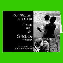Custom Wedding Invitation Greeting Card