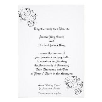 Custom Wedding Invitations Linen finish