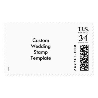 Custom Wedding Large Stamp Template