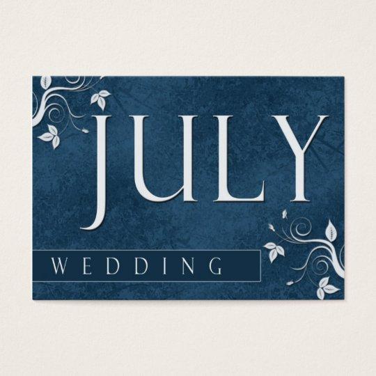 Custom wedding logo cards