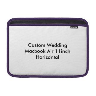Custom Wedding Macbook Air 11inch  Horizontal MacBook Air Sleeves