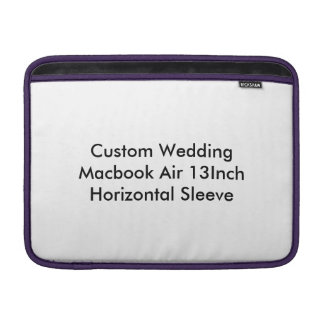 Custom Wedding Macbook Air 13Inch Horizontal Sleev MacBook Air Sleeves