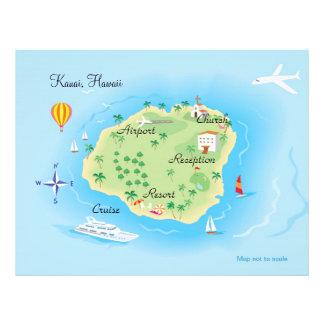 Custom Wedding Map Flyer (Consult artist)