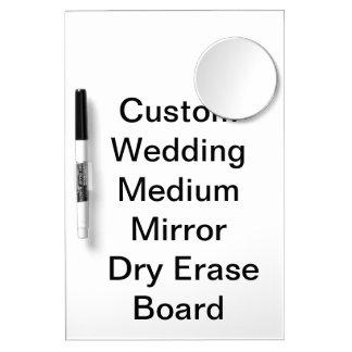 Custom Wedding Medium Mirror  Dry Erase Board