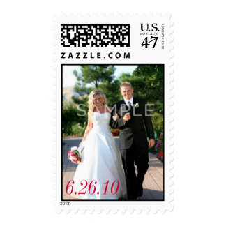 Custom Wedding Photo Postage