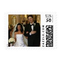 Custom Wedding Photo Postage Stamps