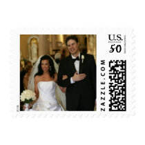 Custom Wedding Photo Postage Stamps