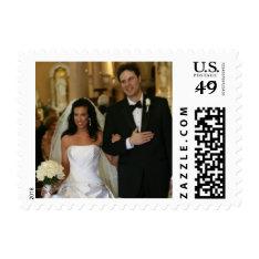 Custom Wedding Photo Postage Stamps at Zazzle