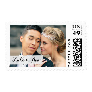 Custom Wedding Photo Sticker Postage