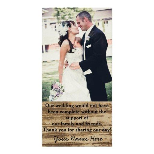 custom wedding photo thank you cards photo card zazzle
