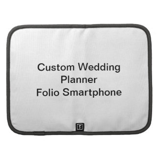 Custom Wedding Planner Folio Smartphone
