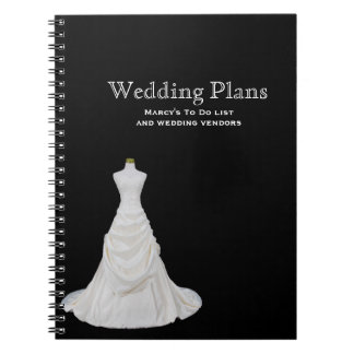 Custom Wedding Planner Notebook