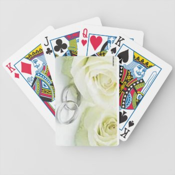 Custom Wedding  Playing Card by CREATIVEWEDDING at Zazzle