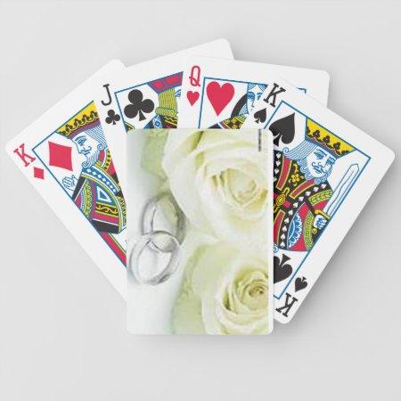 Custom Wedding  Playing Card