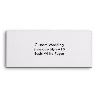 Custom Wedding Save The Date Envelope Envelopes