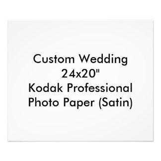 Custom Wedding Save The Date Photo Print